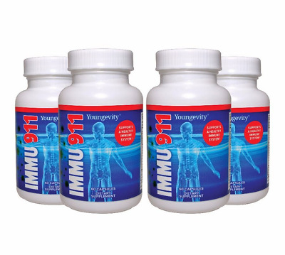 Carol Immu 911 Four bottles 60 capsules  by Youngevity