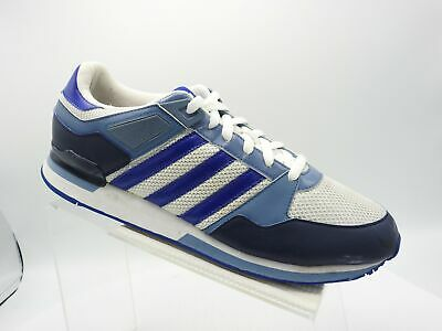 best service e9c90 3394a Adidas ZXZ 456 G04741 Sz 11.5 M Blue White Leather Sneakers Athletic Mens  Shoes