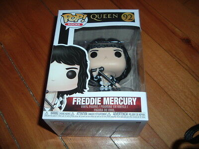 Funko Pop! Freddie Mercury #92~ New~ Mint Condition~ Queen Series~