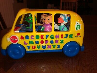 1999 Leap Frog Fun & Learn Phonics Bus Animals Alphabet Sounds, Working!