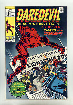 Daredevil #75 NM- Colan, Shores, El Condor