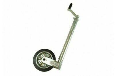 MP9745 48mm Heavy Duty Jockey Wheel Ribbed No Clamp