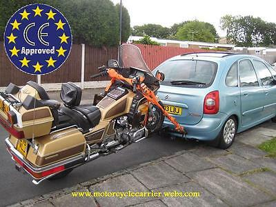 Remorque Moto/trike (Bike Carrier) Nouveau En Europe France