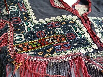 Antiquet Rabari tribal people Gujarat India Kediyu Garment Embroidered Vest
