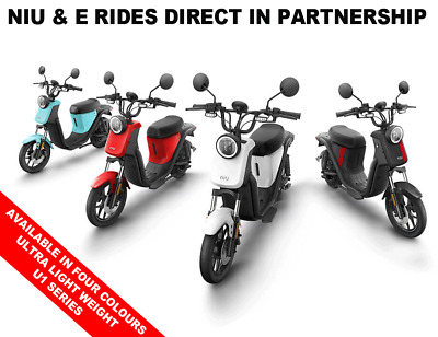 Electric Scooter, NIU U1 Series, New, 4 colours, 2 yr. Warranty, Free delivery