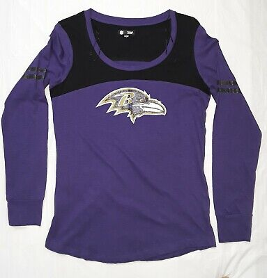 b8f3fb4d9 BALTIMORE RAVENS NFL 5th   Ocean by NEW ERA Women s Long Sleeve T-Shirt L