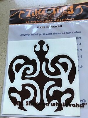 Decal Sticker Hawaii Turtle Stylised Brand New In Pack