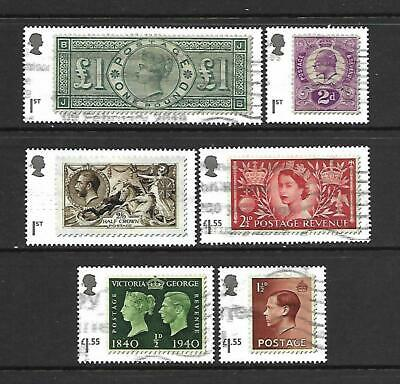 GB 2019 Classic Stamps, postally used