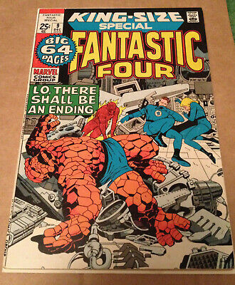 Fantastic Four Annual # 9 - Kirby (R) / Cents Nd In Uk - Marvel 1971