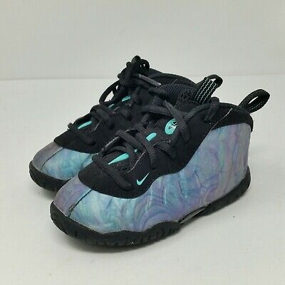 5b6d06aded476 NIKE LIL FOAM Posite One (Toddler Size 6C) Aurora Green Shoes ...