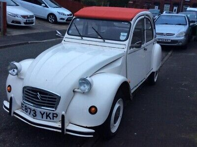 1988 Citroen 2cv 6 Dolly Special, soft top convertible, galvanised chassis