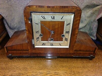 Vintage Art Deco Mantel Clock