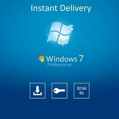 Windows 7 Pro Professional Windows 7 32/64-bit Product Key License Full Version