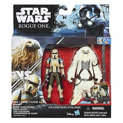 """Star Wars Rogue One - Scarif Stormtrooper & Chef D'escouad 3.75"""" Action Figure"""