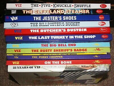 Viz A Collection Of 10 Annuals & 2 Specials