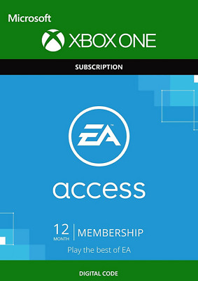 EA Access 12 Month Membership Subscription Code Region Free (Xbox One)