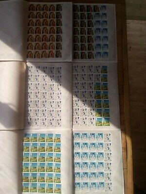 200 MIXED 2nd CLASS NON SECURITY STAMPS UNFRANKED OFF PAPER £116 FACE VALUE 58p
