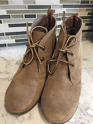 d8df02628e1 SPERRY WOMENS SUEDE Wedge Ankle Boots