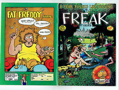 Fabulous Furry Freak Brothers 3 (Rip Off 1973) 5th Printing, Gilbert Shelton