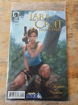 Lara Croft and the Frozen Omen #1 Comic Block Variant New