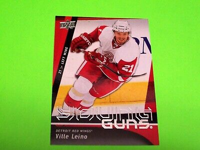 2009-10 UD Young Guns #204 VILLE LEINO RC ~ ROOKIE upper deck yg ref # 17 18 19