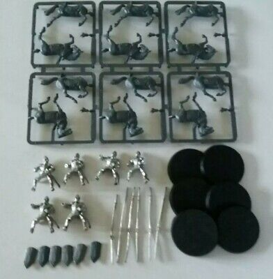 games workshop Lord of the rings 6 metal gondor knights minas tirith lot 1