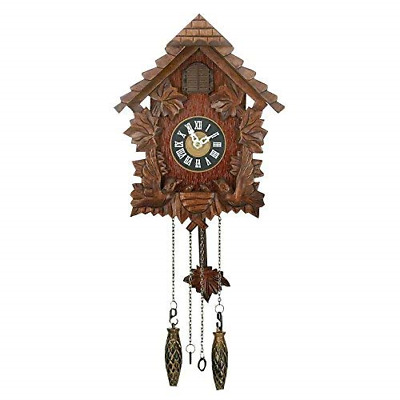 Traditional Cuckoo Wall Quartz Clock by Widdop & Bingham