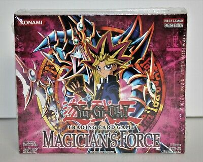 Yu-Gi-Oh! Trading Card Game MAGICIAN'S FORCE Booster For U.S. & Canada English