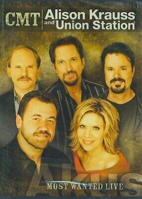 CMT Alison Krauss and Union Station Most Wanted Live - DVD  HYVG The Cheap Fast
