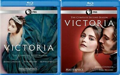 VICTORIA TV SERIES COMPLETE SEASONS 1 + 2 New Sealed Blu-ray