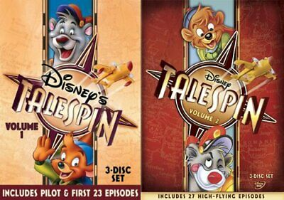 TALESPIN VOLUME 1 + 2 Sealed New 6 DVD 54 Episodes