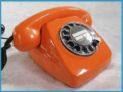 ..Telefon..deutsche Post..FeTAp 611-2..ORANGE..1980..restauriert..TAE..TOP..
