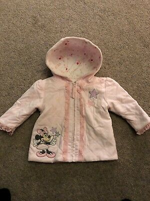 cfbf102f4 DISNEY STORE MINNIE Mouse Baby Girls Coat Jacket - 6-9 Months ...