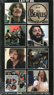The Beatles - Let It Be Ultimate Dvd Collector's Edition - 4Dvd Long Box Digipak