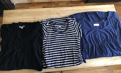 Lot Of 3 Old Navy Maternity Dresses Size Small