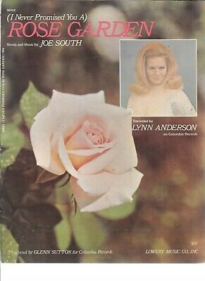 (I Never Promised You A) Rose Garden , 1970,  Lynn Anderson on cv, by Joe South