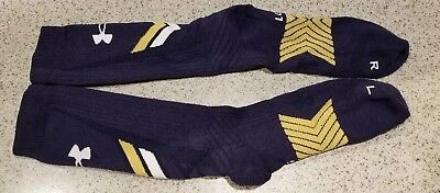 Notre Dame Football 2014 Team Issued Under Armour Socks Size Xl