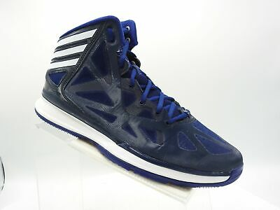 new product 538be 03d22 Adidas Crazy Shadow 2 Q33386 Sz 10.5 M Navy Blue High Top Basketball Mens  Shoes