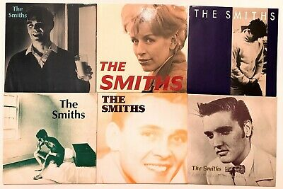 Group of 6 UK Smiths Singles  - all very nice condition