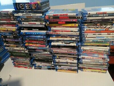 Huge Lot of Blu-Ray DVD Movies 500+ Collection Sealed New Comedy Drama Horror