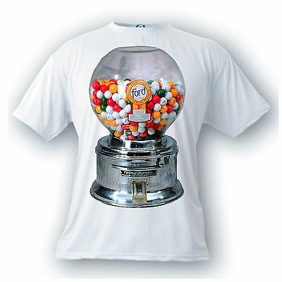 ford gumball vintage image t-shirt