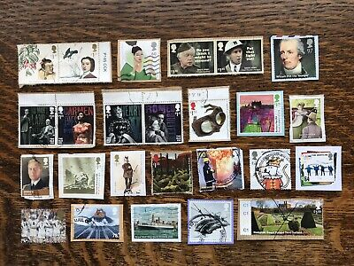 Collection Of Latest High Value GB COMMEMORATIVE STAMPS KILOWARE