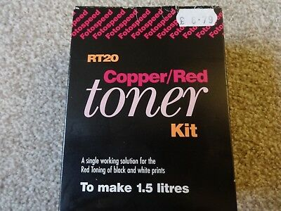 Fotospeed Copper/Red Toner RT20 TO MAKE 1.5L  NEW