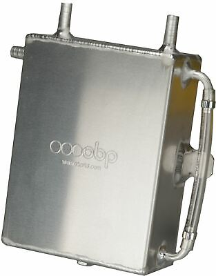 OBP Baffled 2 Litre Square Bulk Head Mount Oil Catch Tank (OBPCT006)