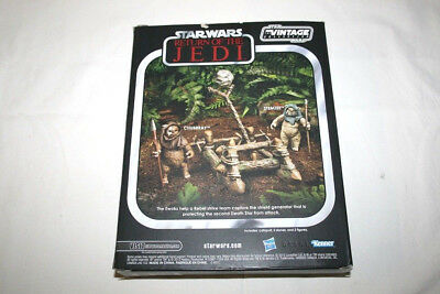 Star Wars VINTAGE COLLECTION EWOKS CATAPULT WITH ACTION FIGURE Kenner Hasbro