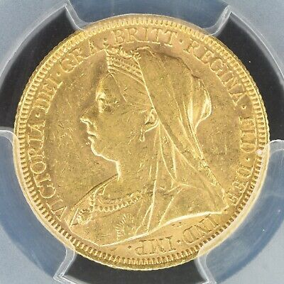 Sovereign 1896-S PCGS MS61 Australia Gold S-3877 UNC Great condition