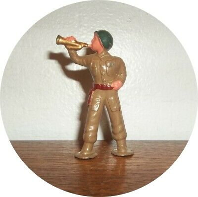 Very Nice Rather Rare ~ Midi Soldier With Bugle ~ Barclay
