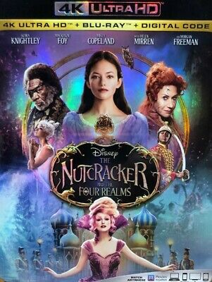 Disney The Nutcracker and the Four Realms 4K ULTRA HD/BLU RAY DIGITAL CODE ONLY
