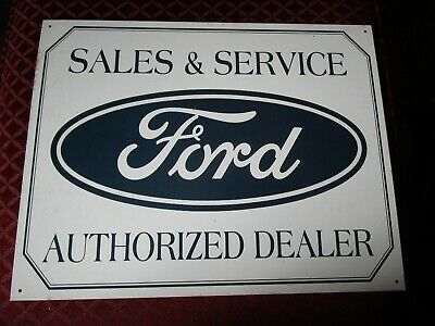 tin metal gasoline service station man cave advertising decor gas oil ford