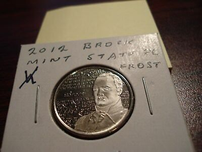 PROOF LIKE - 2012 - Canada 25 cent - Brock Frost - Brilliant Uncircuated